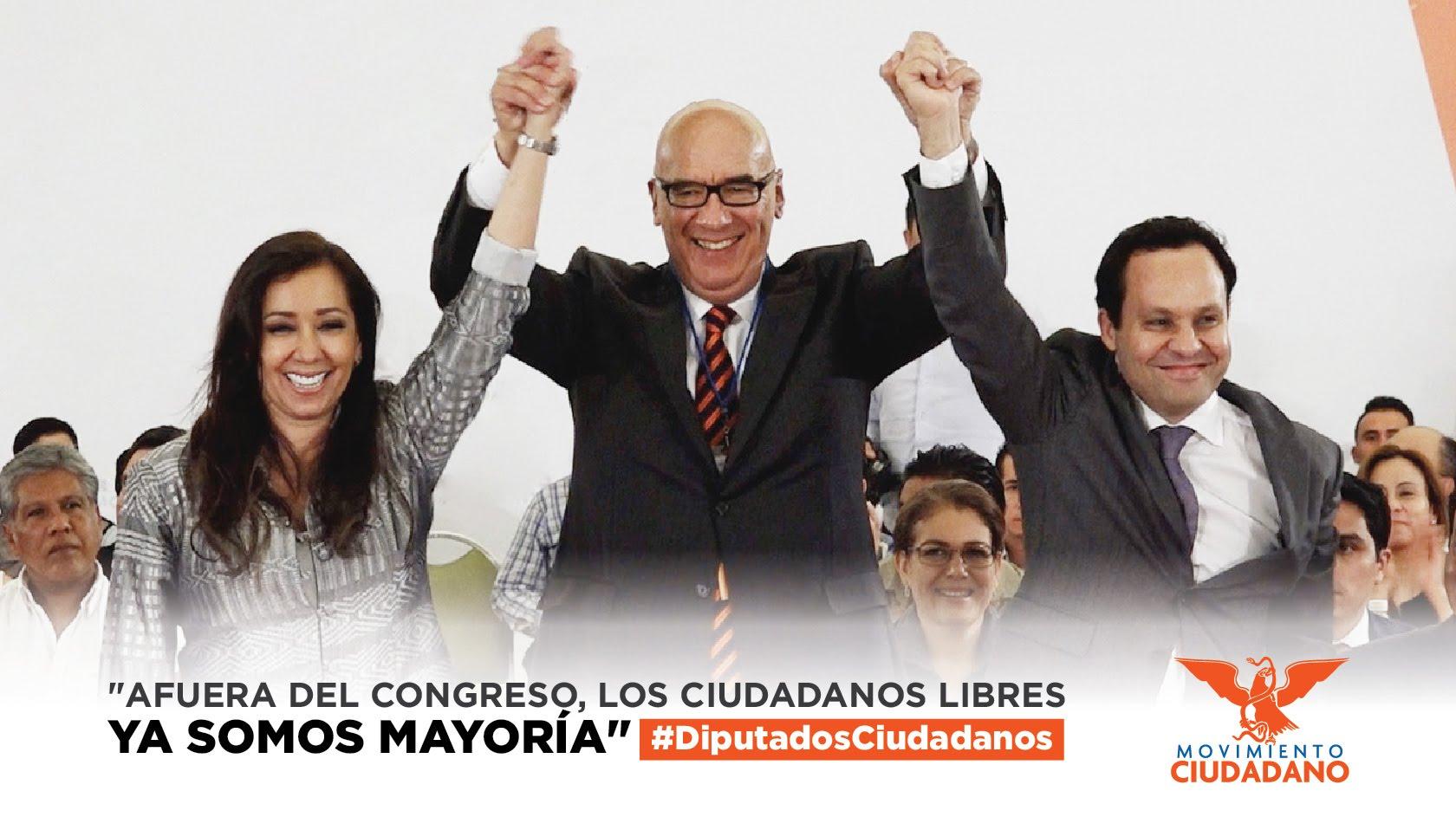 Clemente Castañeda, coordinador de la bancada de los ciudadanos - Movimiento Ciudadano